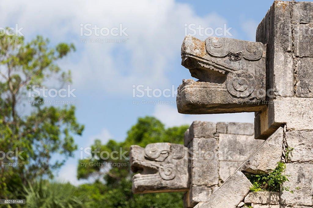 Chichen Itza stock photo