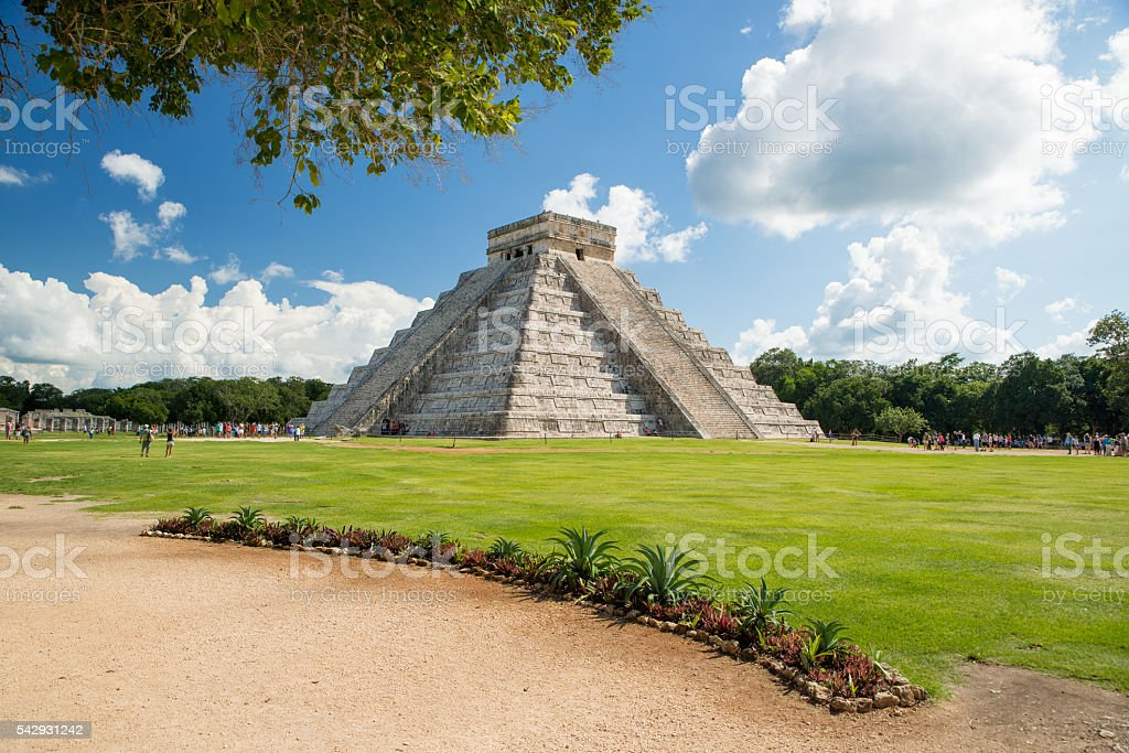 Chichen Itza - Yucatan - Mexico stock photo