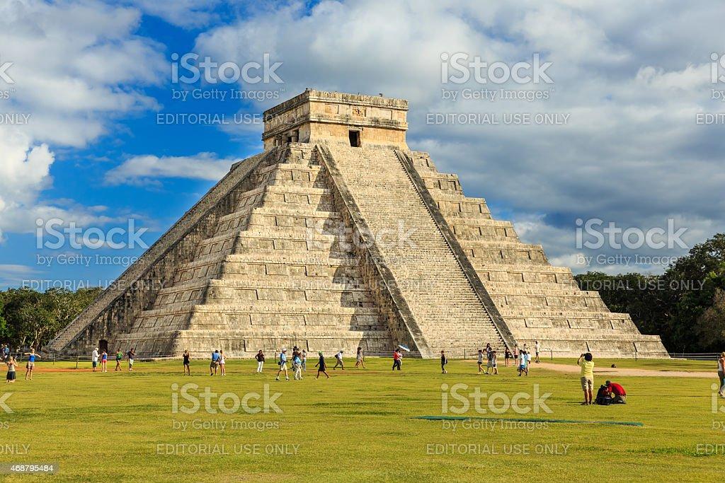 Chichen-Itza (Chichen Itza), Mexico stock photo