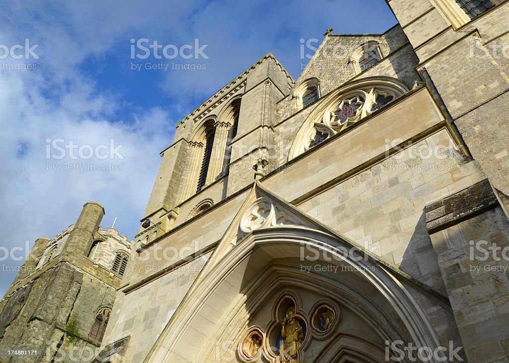 Chichester Cathedral in West Sussex royalty-free stock photo
