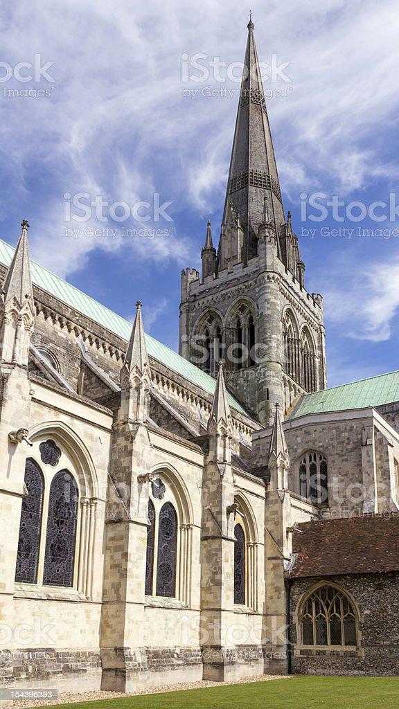 Cathédrale de Chichester photo libre de droits