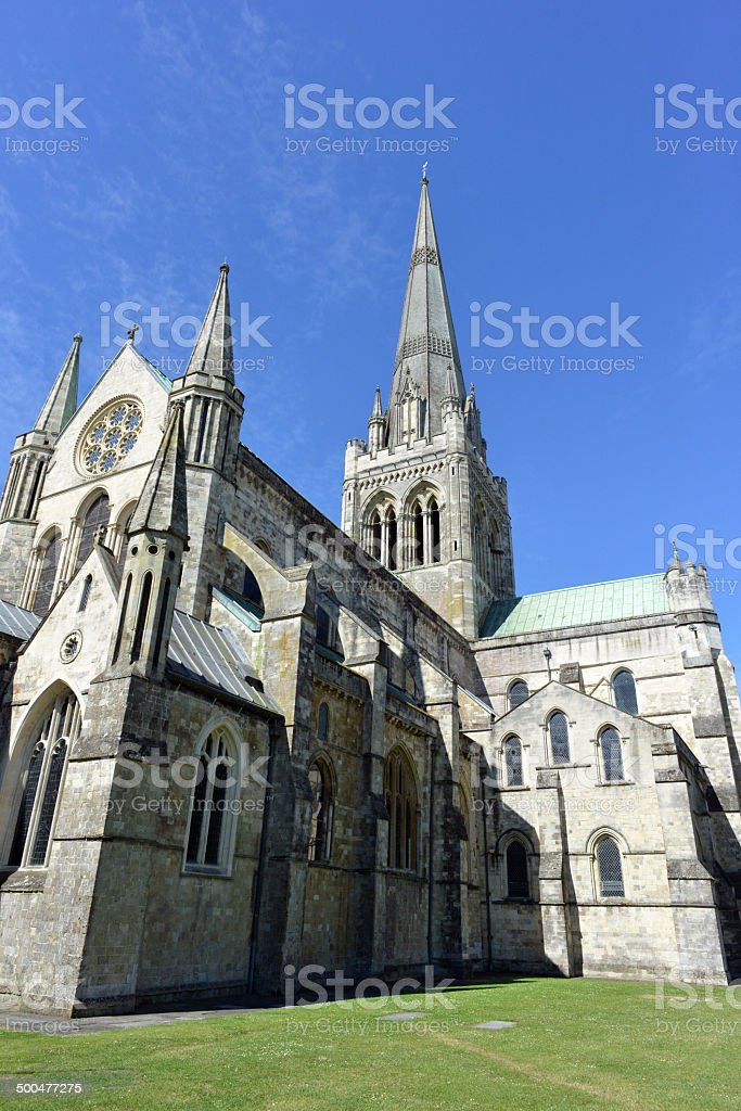 Chichester Cathedral royalty-free stock photo