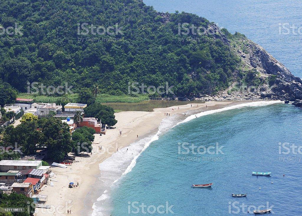 Chichiriviche de la Costa stock photo