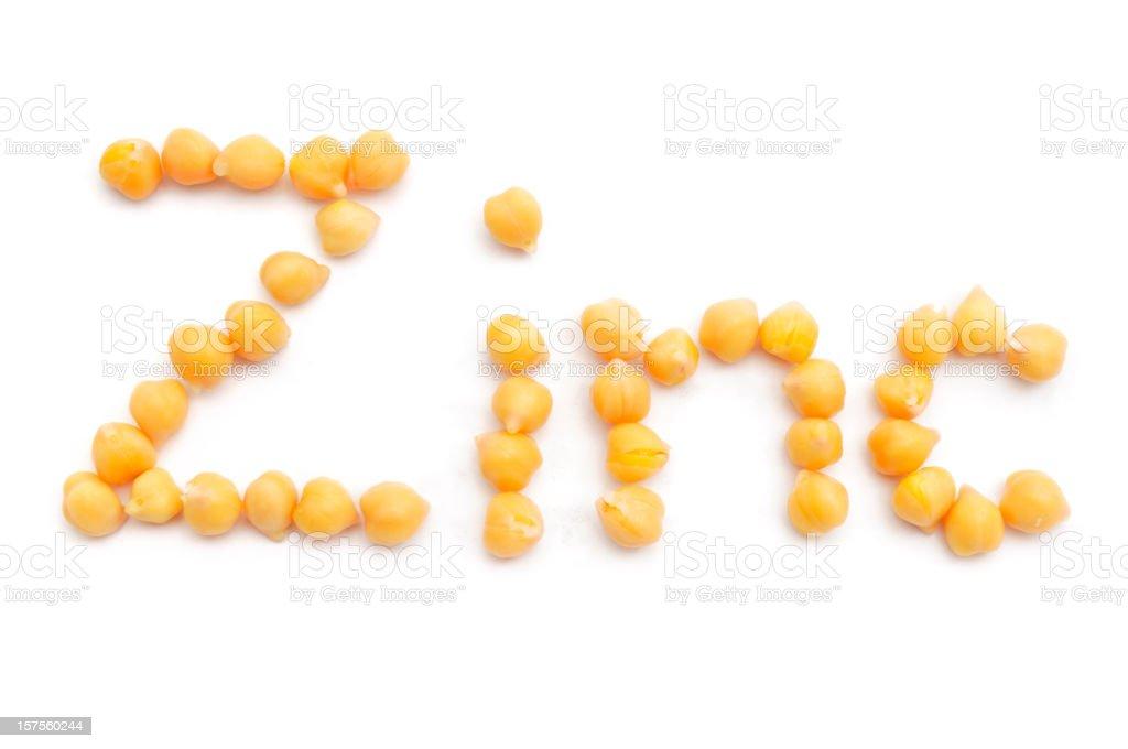 Chick Pea Zinc stock photo