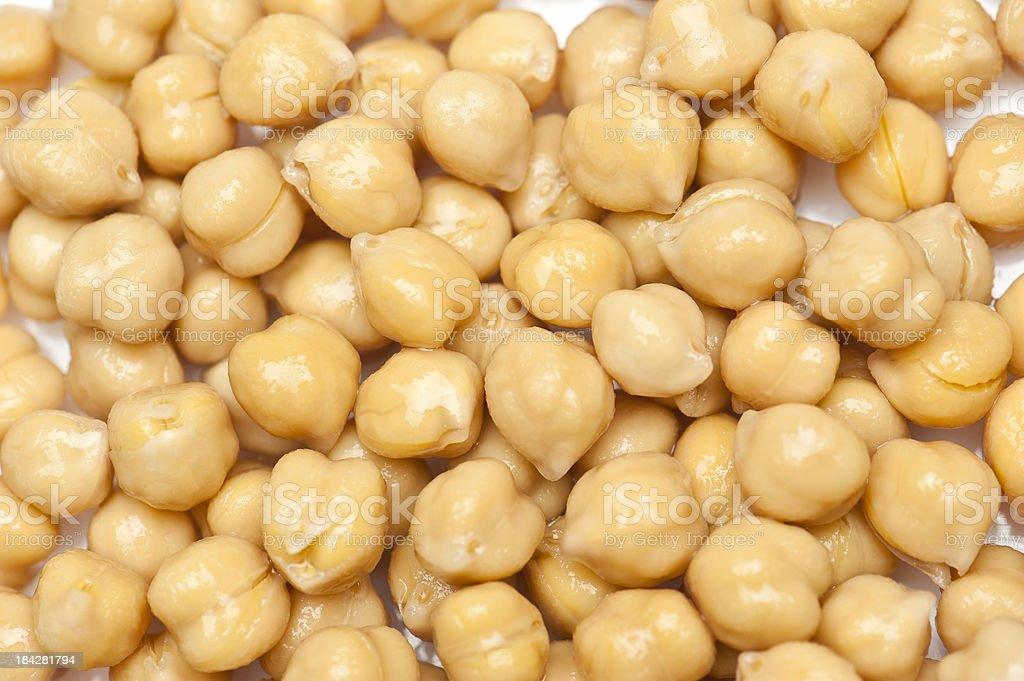 Chick Peas Background stock photo