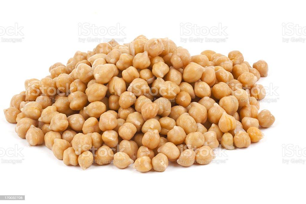 Chick Peas stock photo