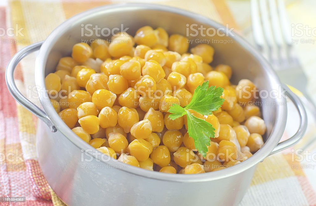 chick peas royalty-free stock photo