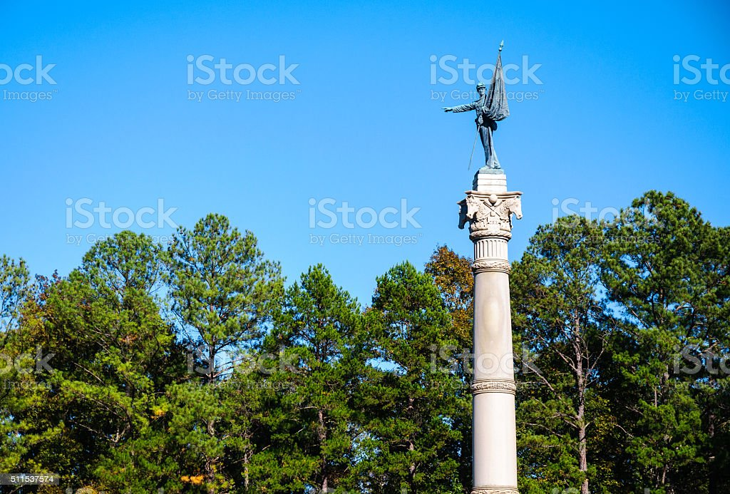 Chickamauga and Chattanooga National Military Park stock photo