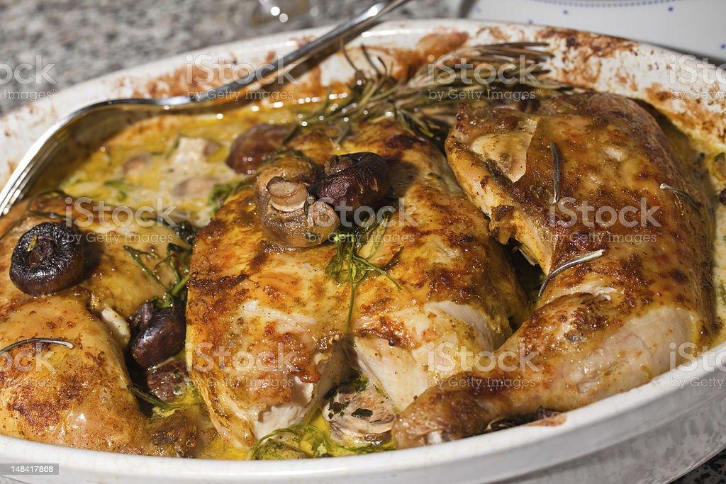 Chicken à la Provence stock photo