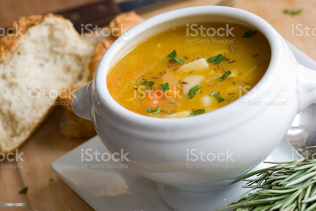 Chicken and vegetable casserole stock photo