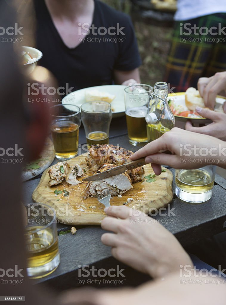 Chicken Barbecue stock photo