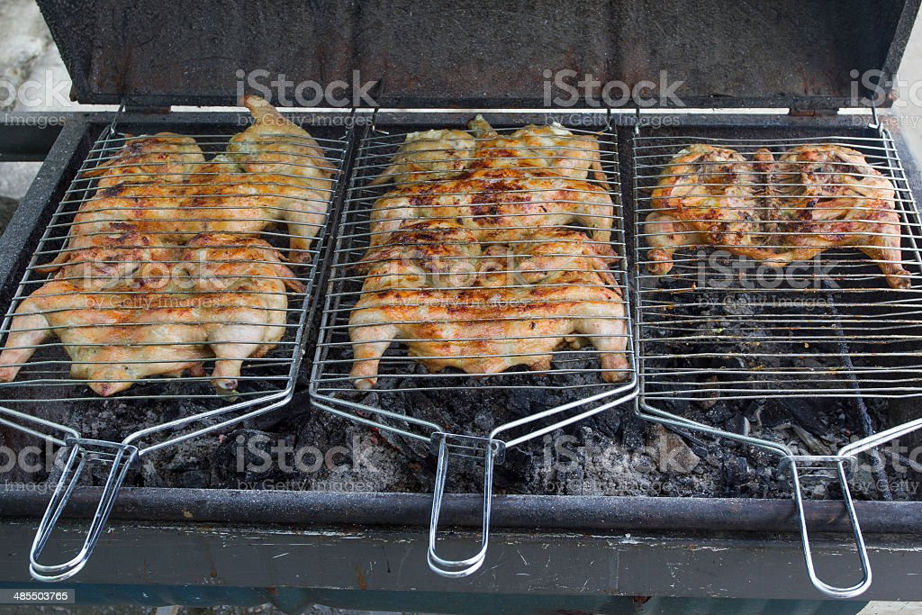 Chicken barbecue royalty-free stock photo