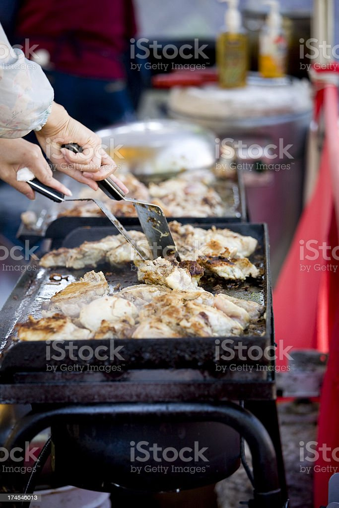 Chicken Barbeque royalty-free stock photo