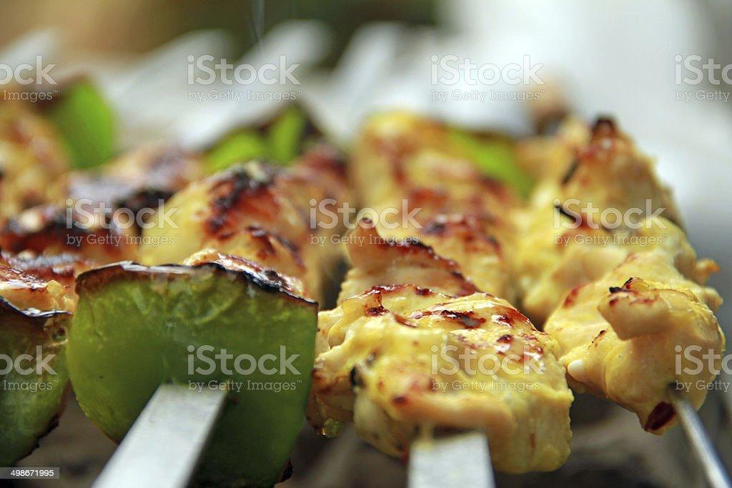 Chicken Bbq Iranian Food Grilled Chicken Stock Photo 498671995 Istock