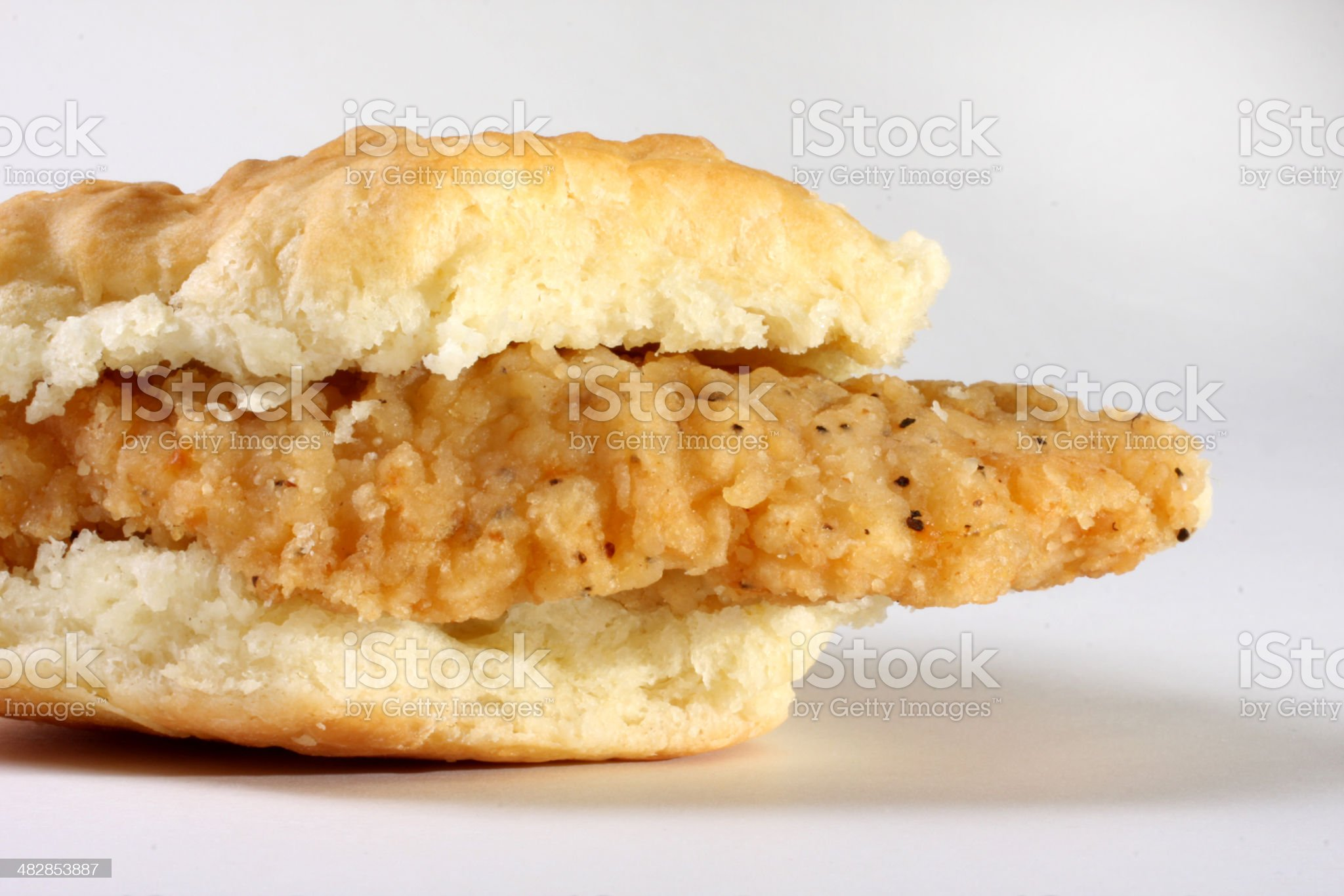 chicken biscuit royalty-free stock photo