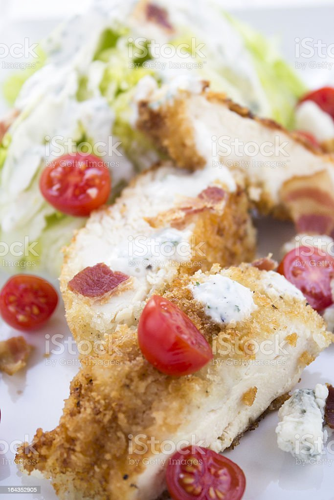 Chicken BLT Salad royalty-free stock photo