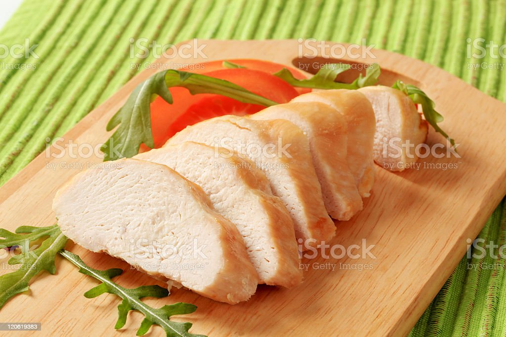 Chicken breast fillet royalty-free stock photo