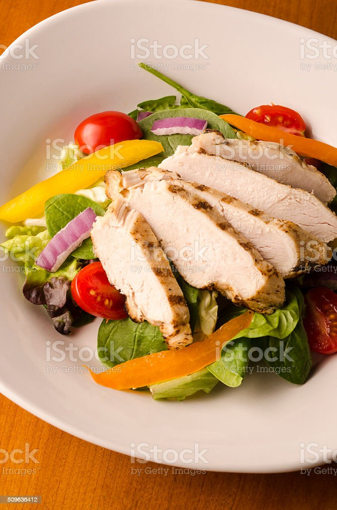 Chicken Breast Salad stock photo