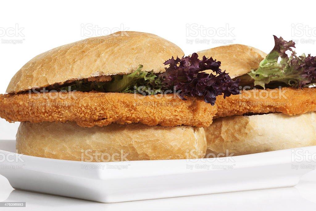 Chicken Burger, Sandwich royalty-free stock photo