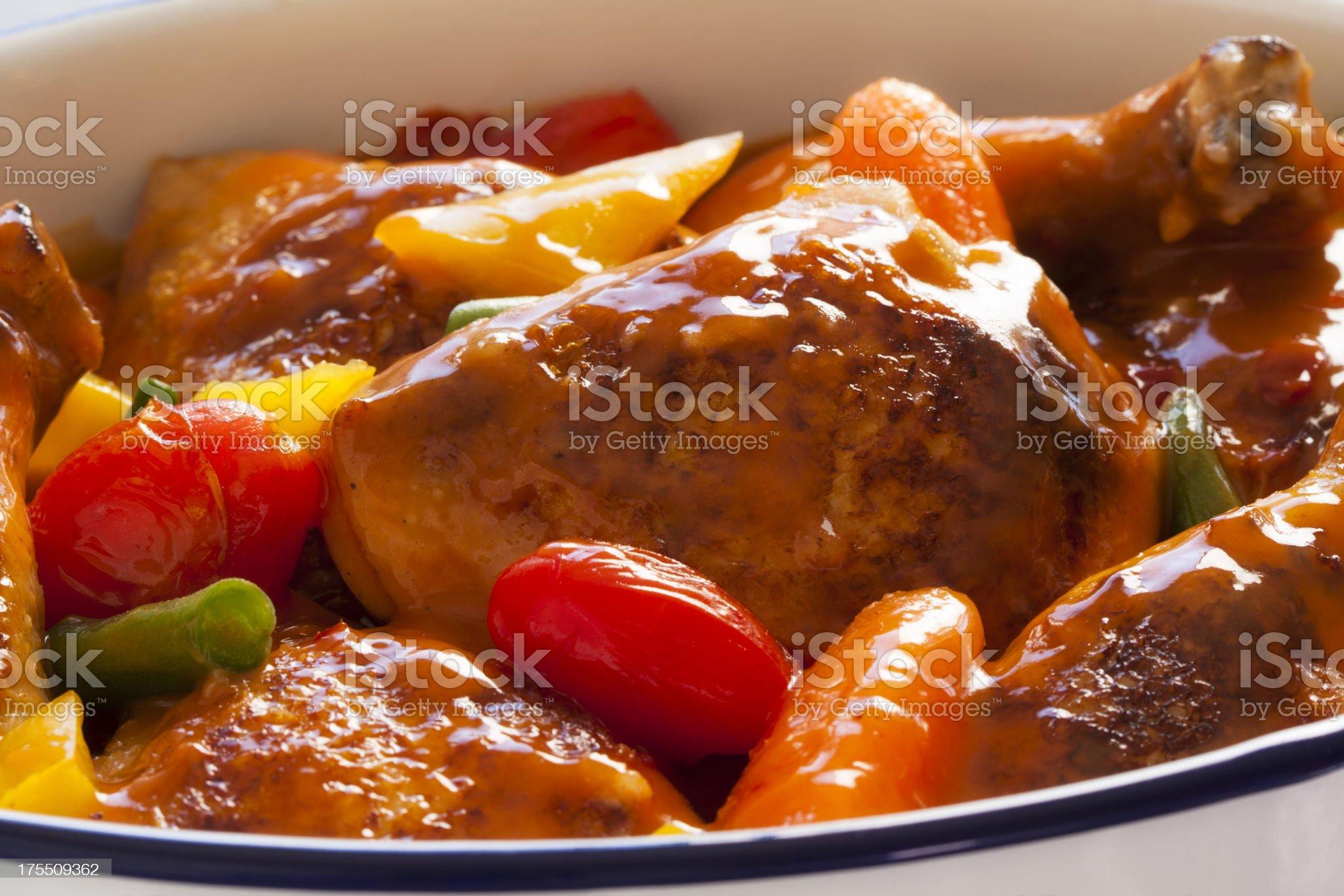 Chicken casserole royalty-free stock photo