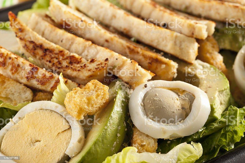 Chicken Cesar Salad royalty-free stock photo