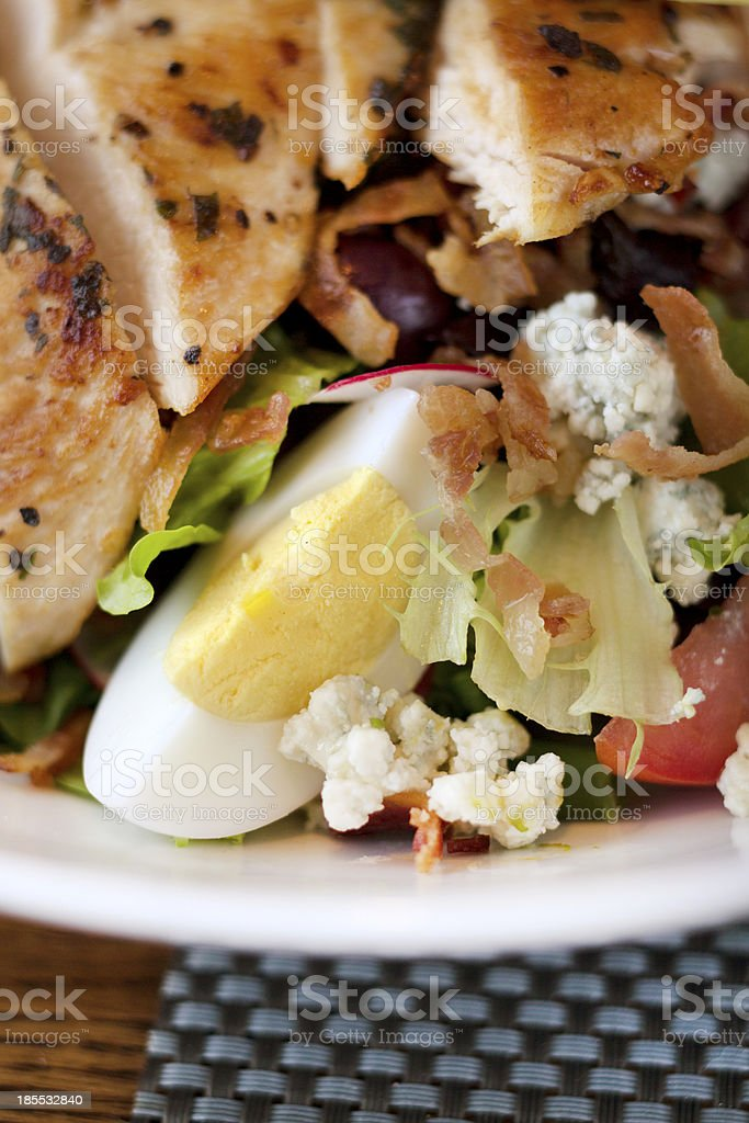 Chicken Cobb Salad royalty-free stock photo