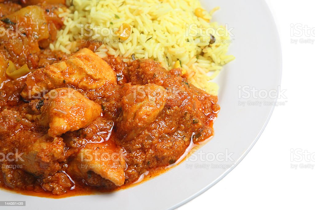 Chicken Curry stock photo