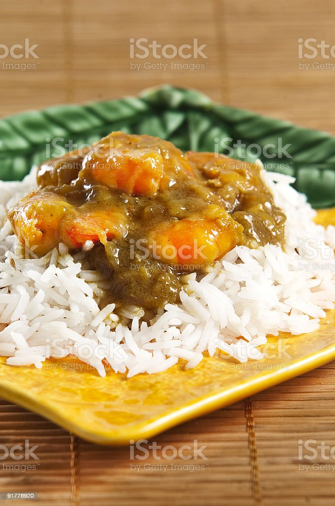 chicken curry royalty-free stock photo