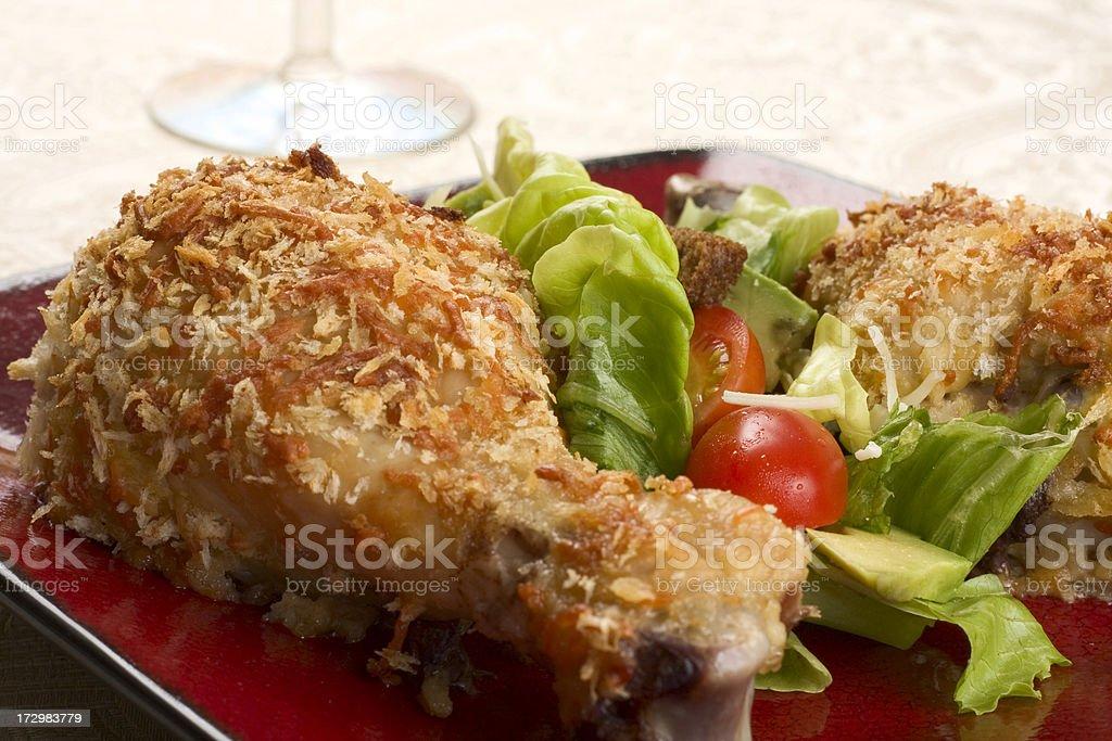 Chicken Diablo stock photo