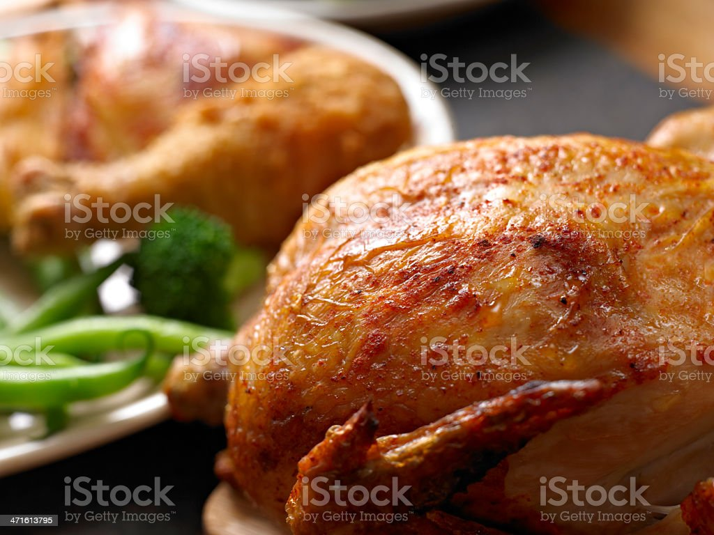Chicken Dinner royalty-free stock photo
