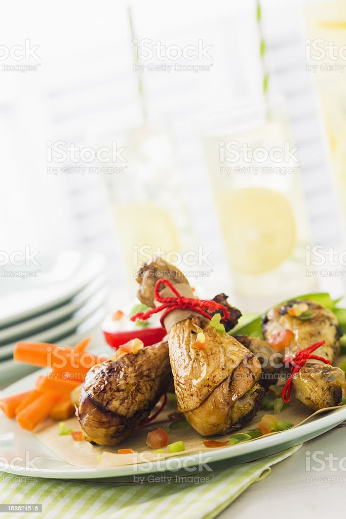 Chicken Drumsticks stock photo