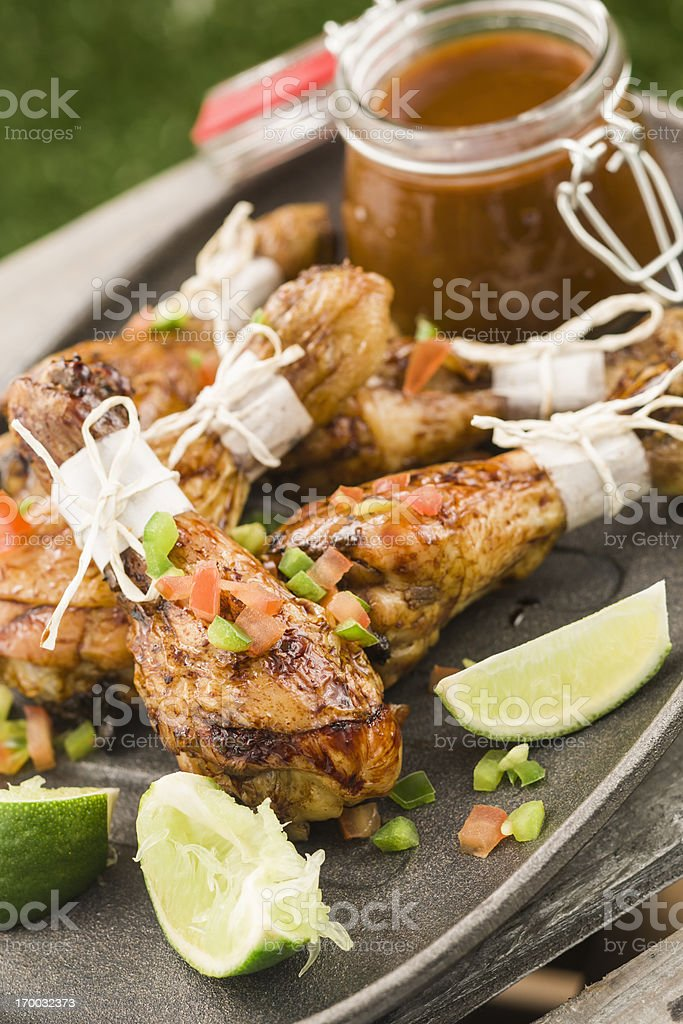 Chicken Drumsticks royalty-free stock photo