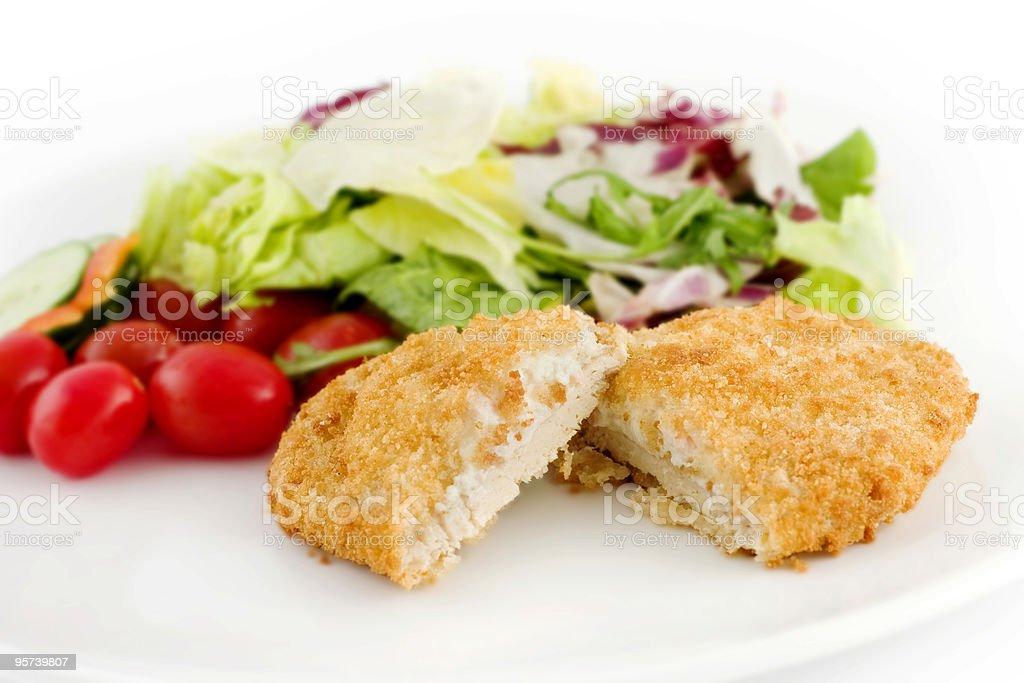 Chicken Escalope stock photo
