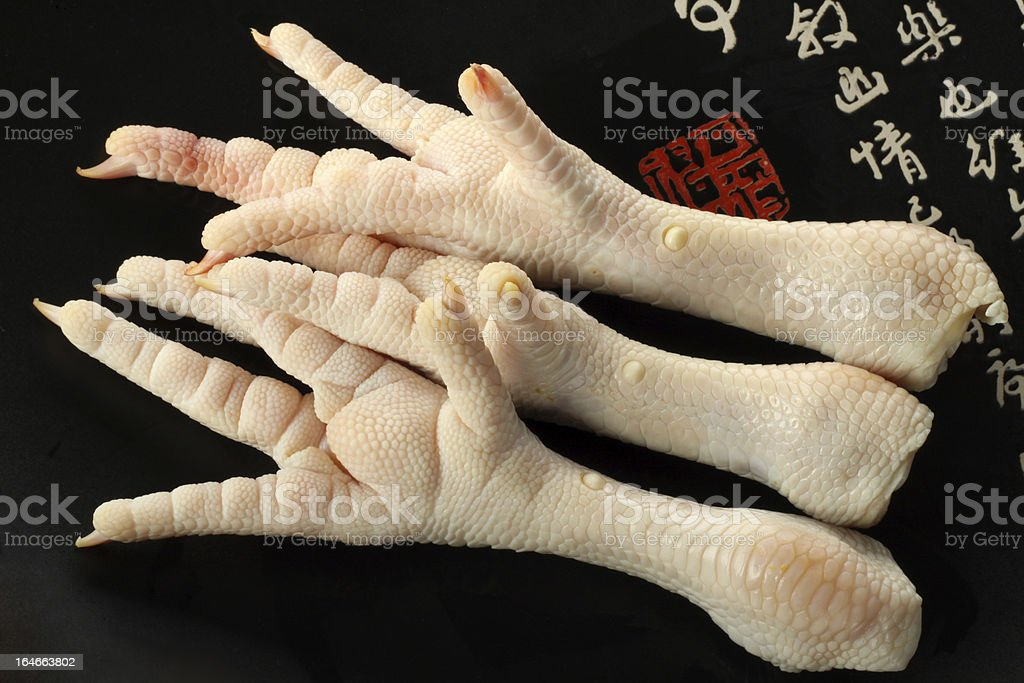 chicken feet royalty-free stock photo