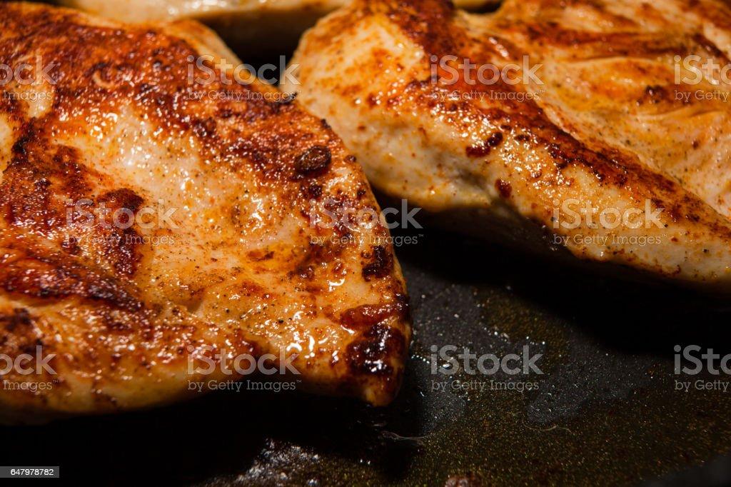 Chicken fillet stock photo