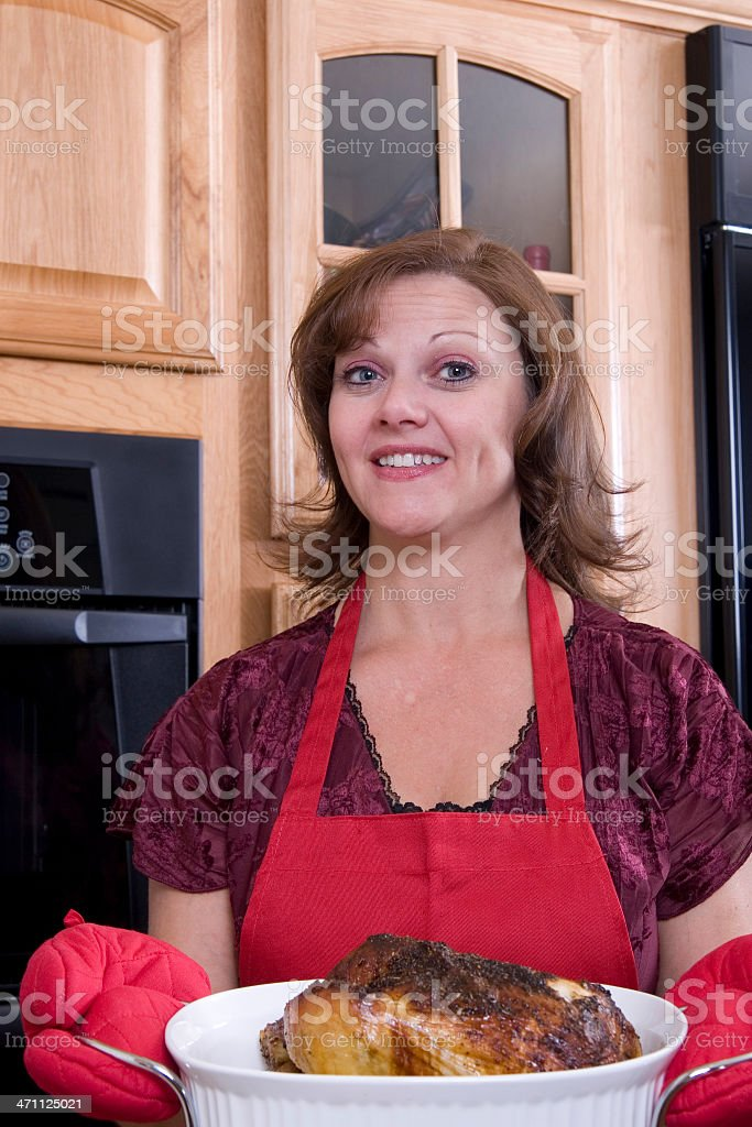 Chicken for Dinner royalty-free stock photo
