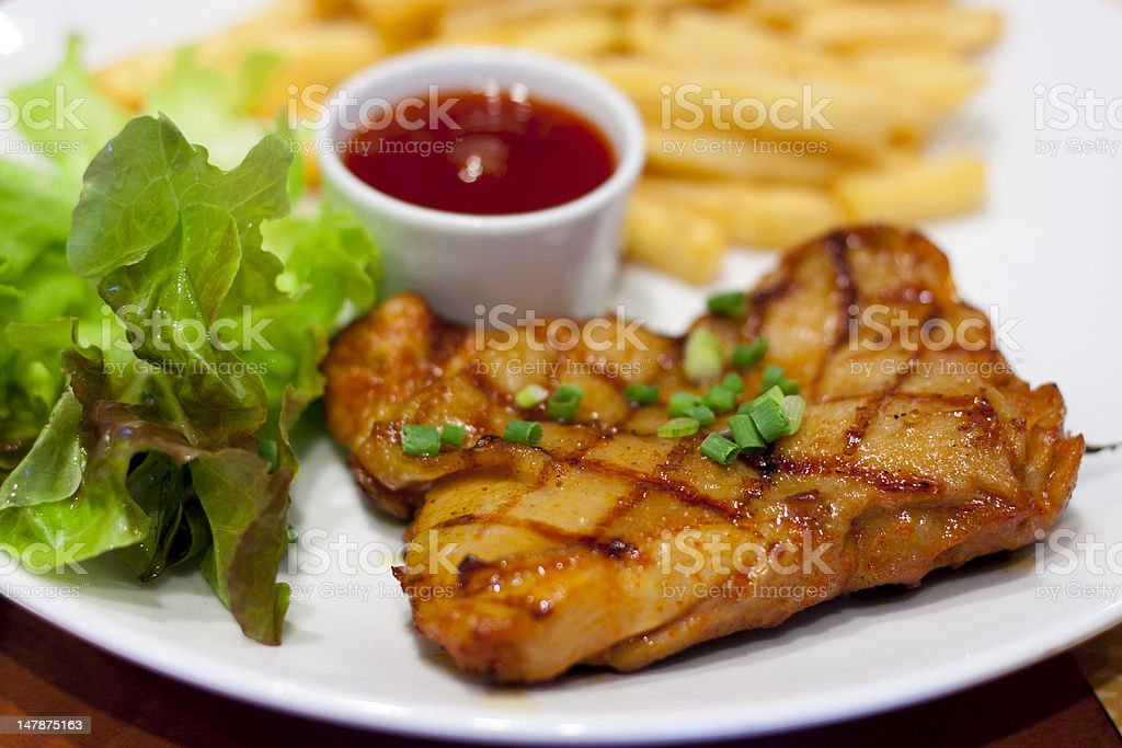 Chicken Fried Steak royalty-free stock photo