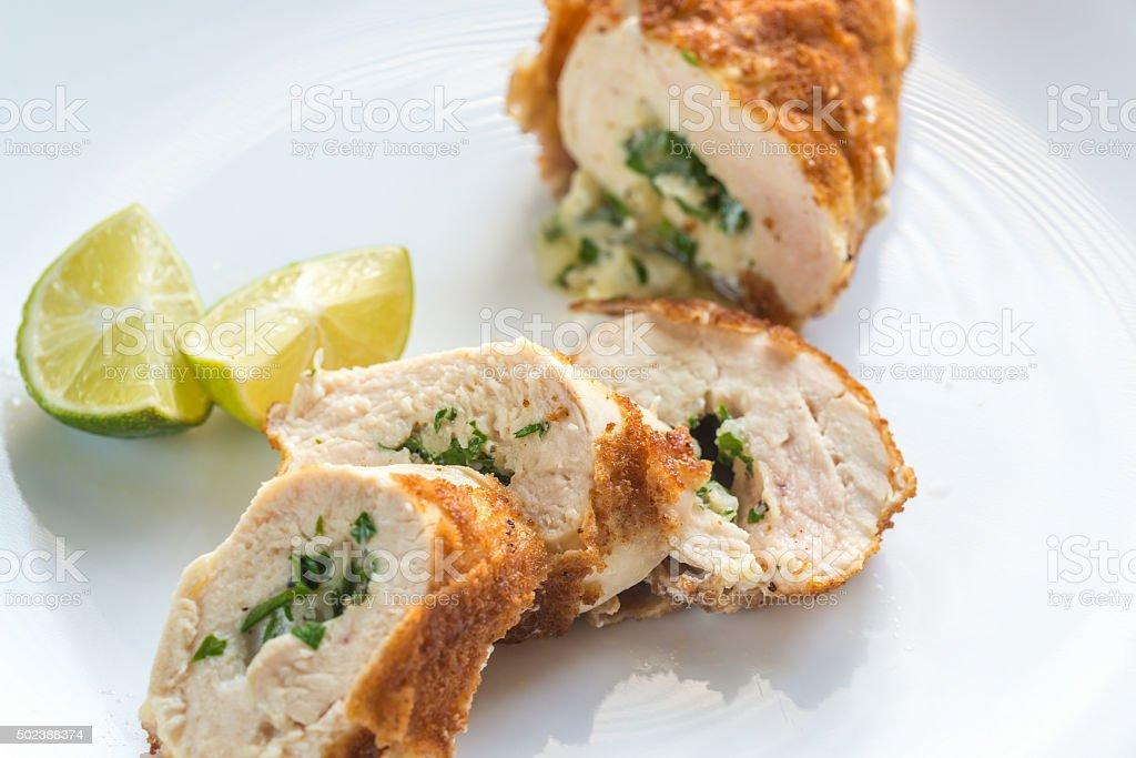 Chicken Kiev stock photo