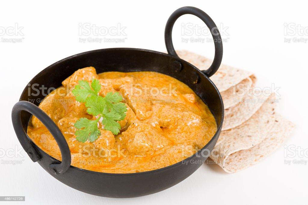 Chicken Korma stock photo