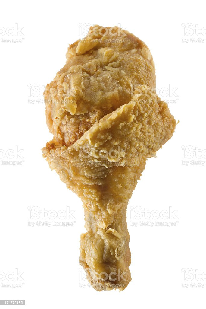 chicken leg stock photo
