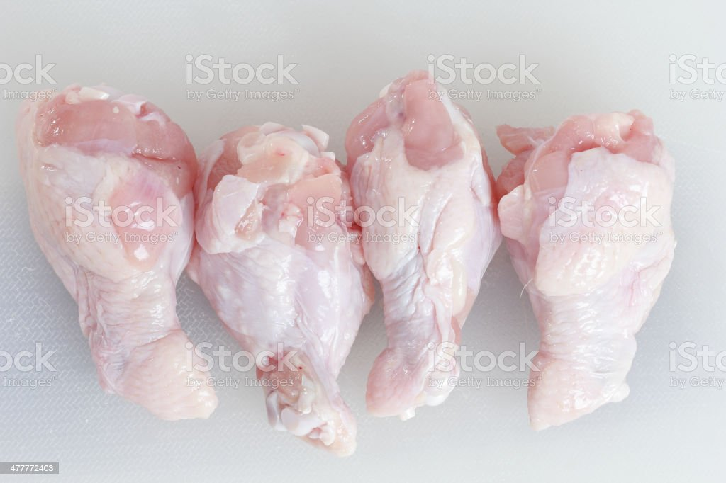 chicken legs raw royalty-free stock photo