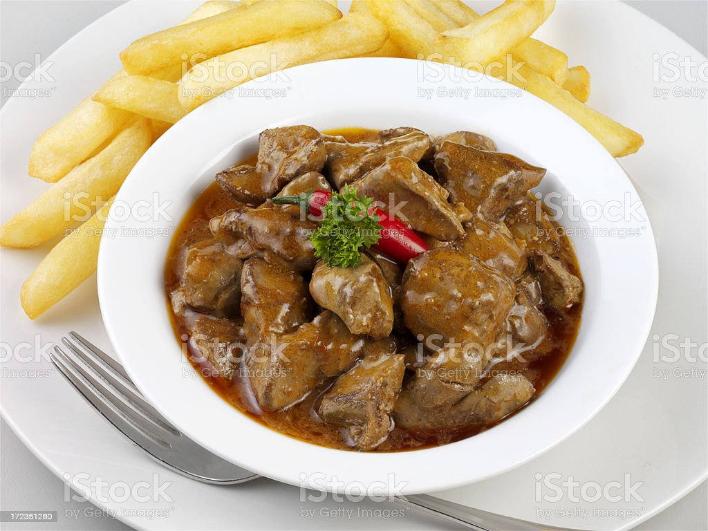 Chicken Livers royalty-free stock photo