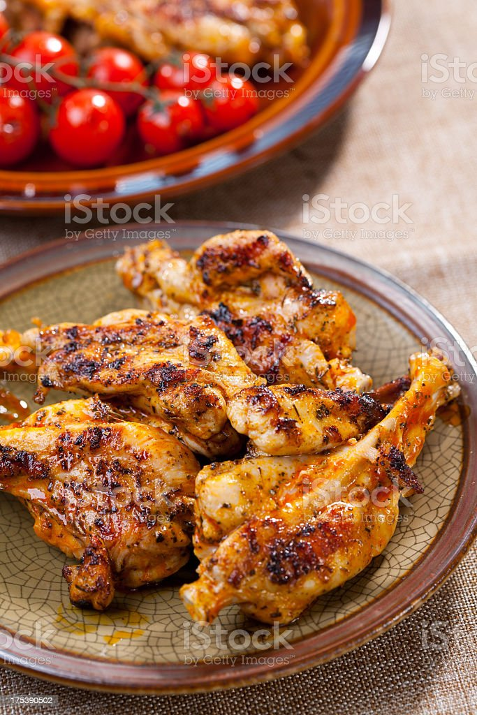 Chicken meal royalty-free stock photo