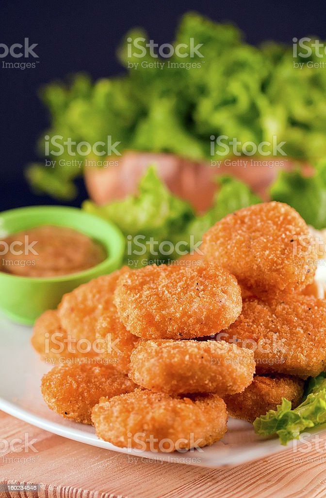 Chicken Nuggets royalty-free stock photo