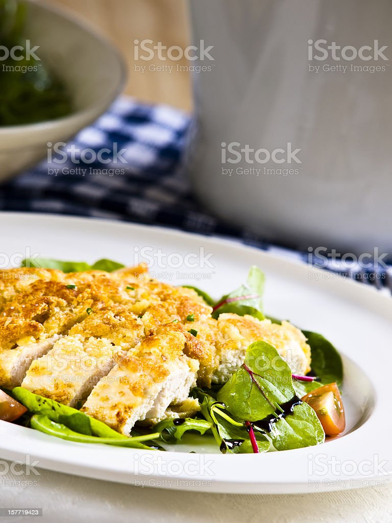 chicken parmesan royalty-free stock photo