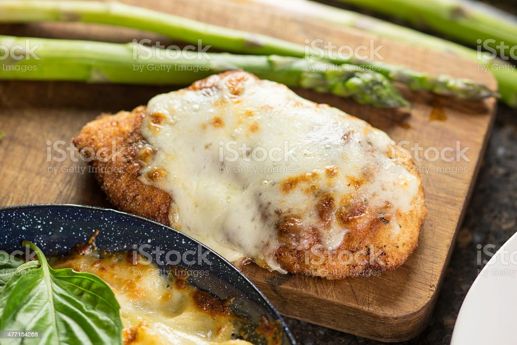 Chicken Parmesan stock photo
