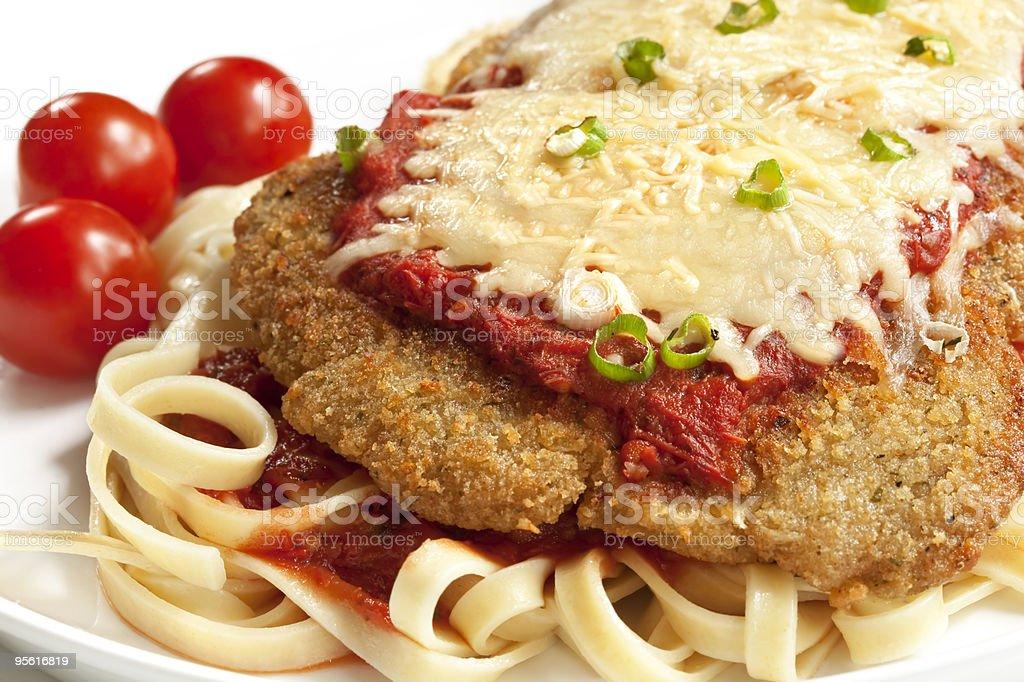 Chicken Parmesan stock photo