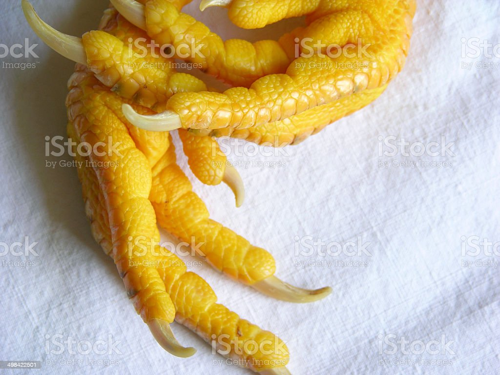 Chicken Paws with Claws royalty-free stock photo