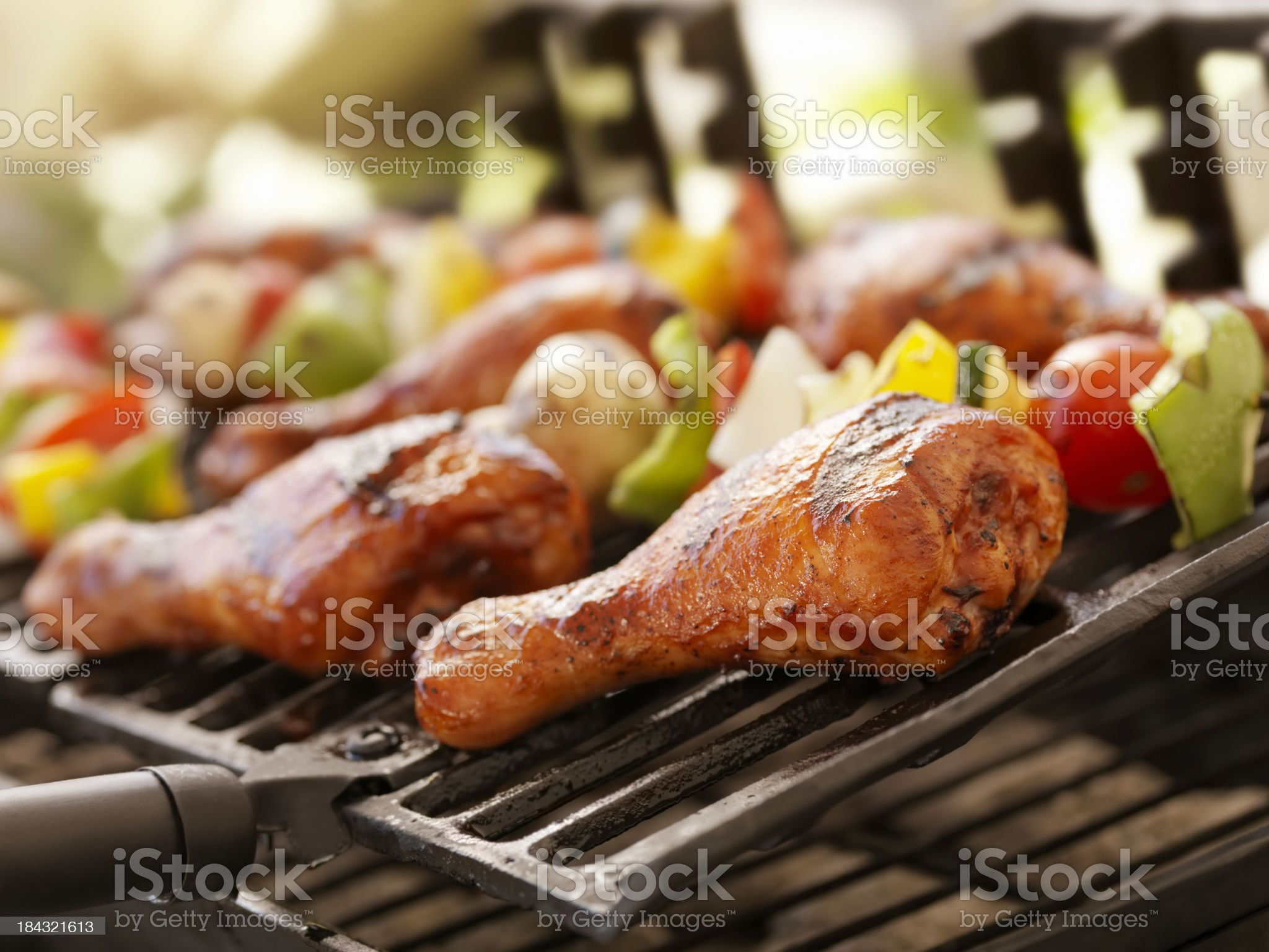 BBQ Chicken royalty-free stock photo