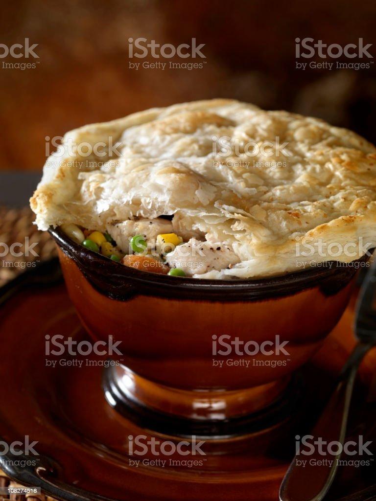 Chicken Pot Pie 2 royalty-free stock photo